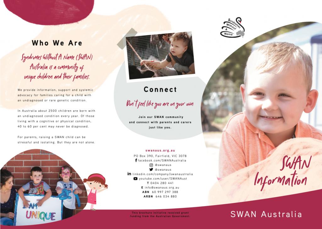 SWAN Aus SWAN information screenshot brochure