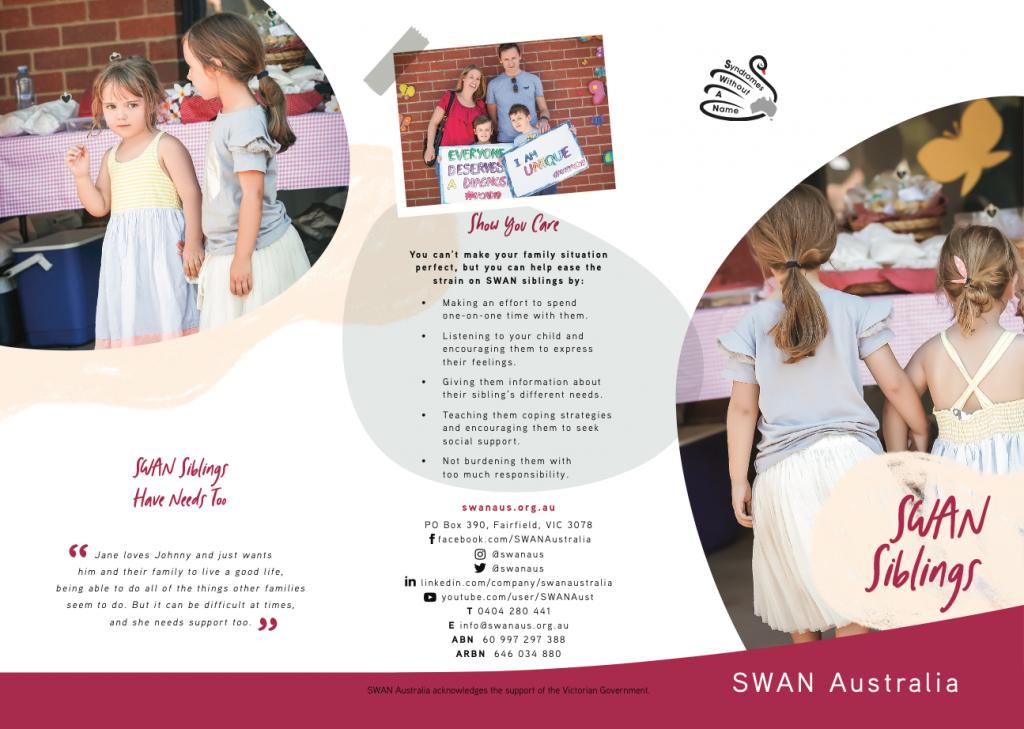 SWAN Aus SWAN siblings screenshot brochure