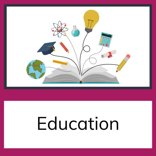 web resources education tile