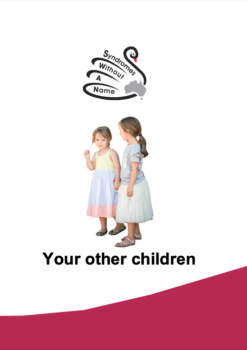 SWAN kids SWAN siblings 'your other children' title page