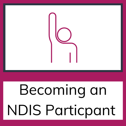 NDIS becoming an NDIS participant tile