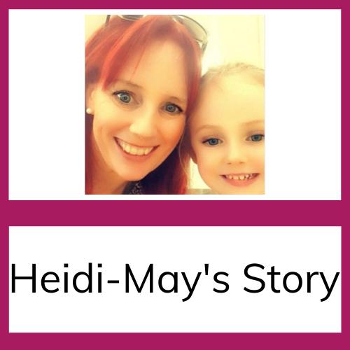 Heidi May and mum story