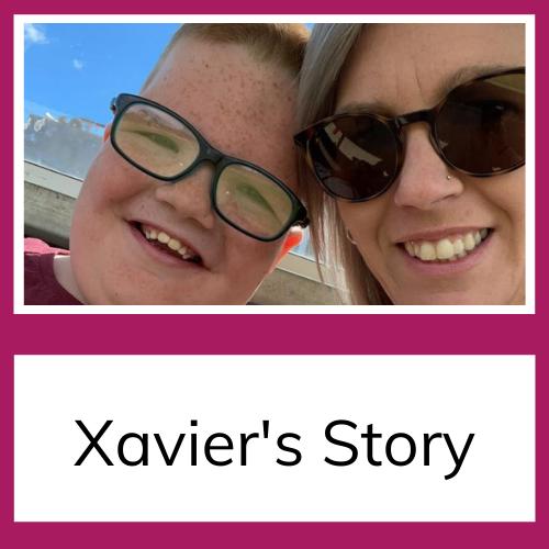Xavier and mum
