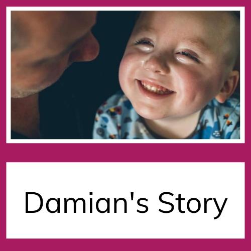 Smiling Damian